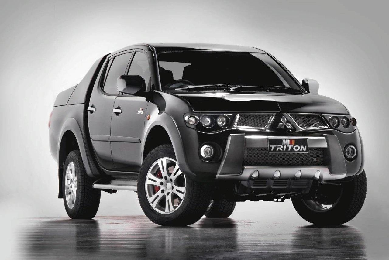 Mitsubishi apresenta Triton modificada no Salão de Sidney