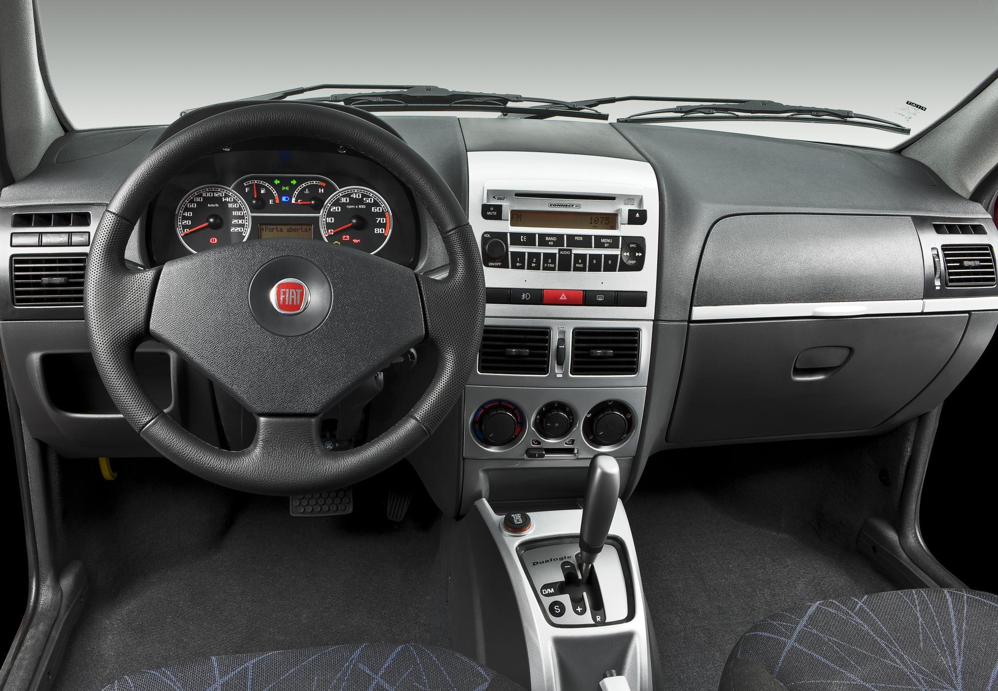 Siena dualogic pit stop for Fiat idea adventure 2008 caracteristicas