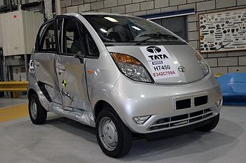 Tata Nano - Teste