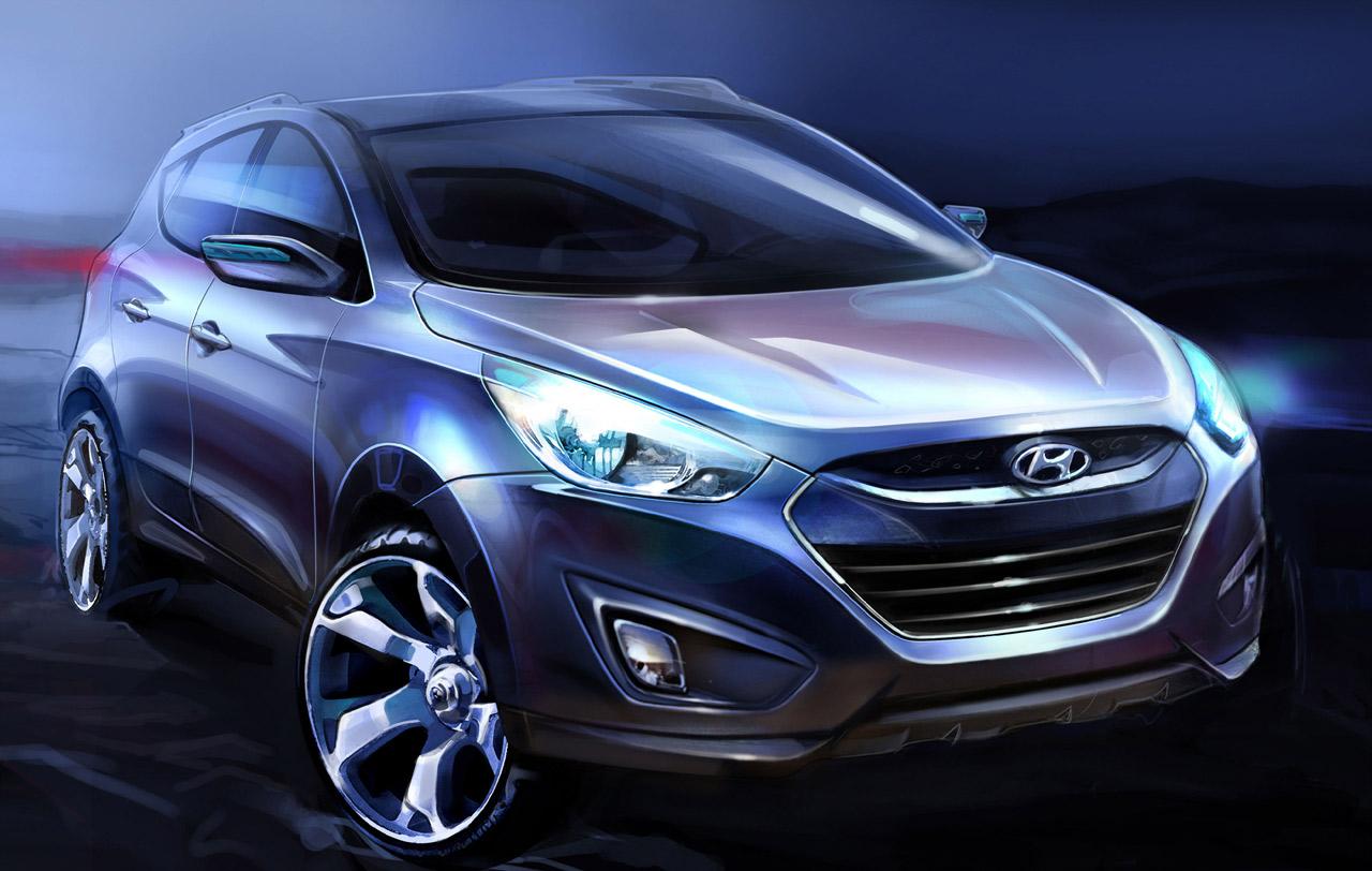 Hyundai Divulga Primeira Imagem E Desenhos Oficiais Do