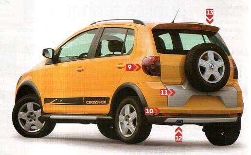Segredo: Volkswagen CrossFox 2010 é revelado | Pit Stop