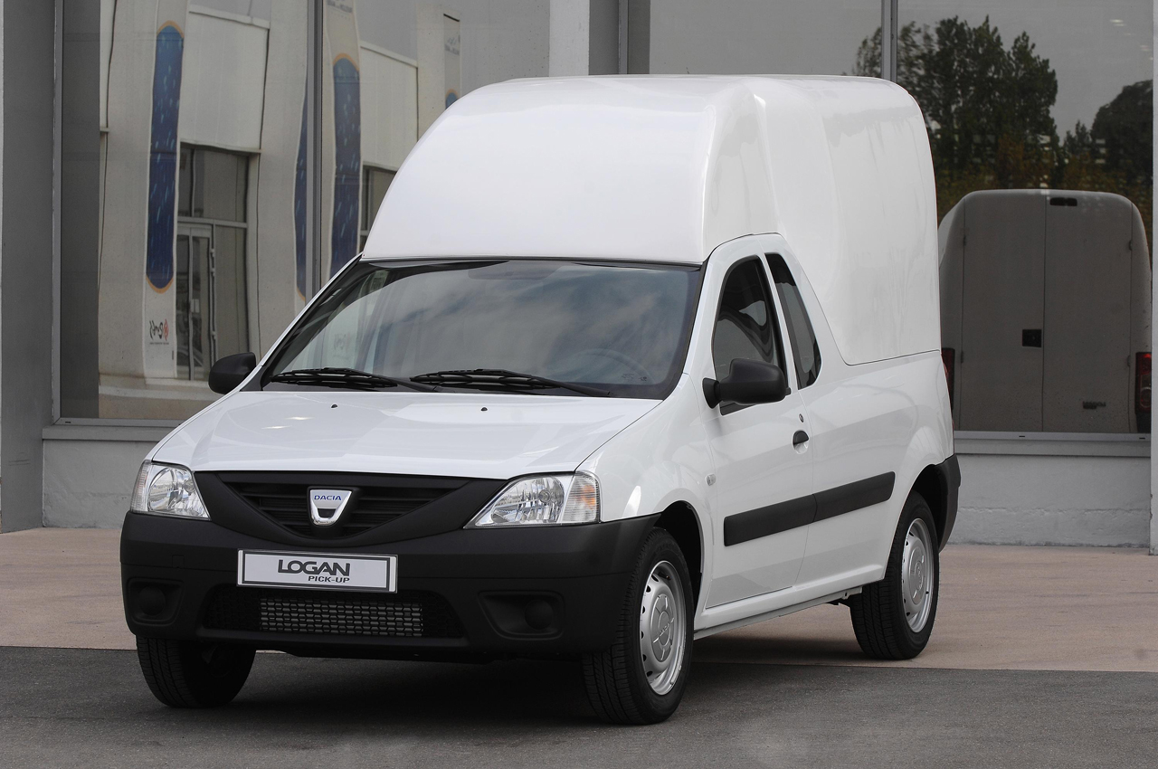dacia logan pick up e mcv ganham novas configura es na europa pit stop. Black Bedroom Furniture Sets. Home Design Ideas
