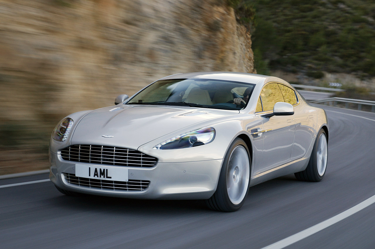 Galeria De Imagens Aston Martin Rapide Sob Todos Os Angulos Pit Stop