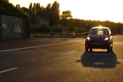 Misterioso compacto da Fiat flagrado na Holanda