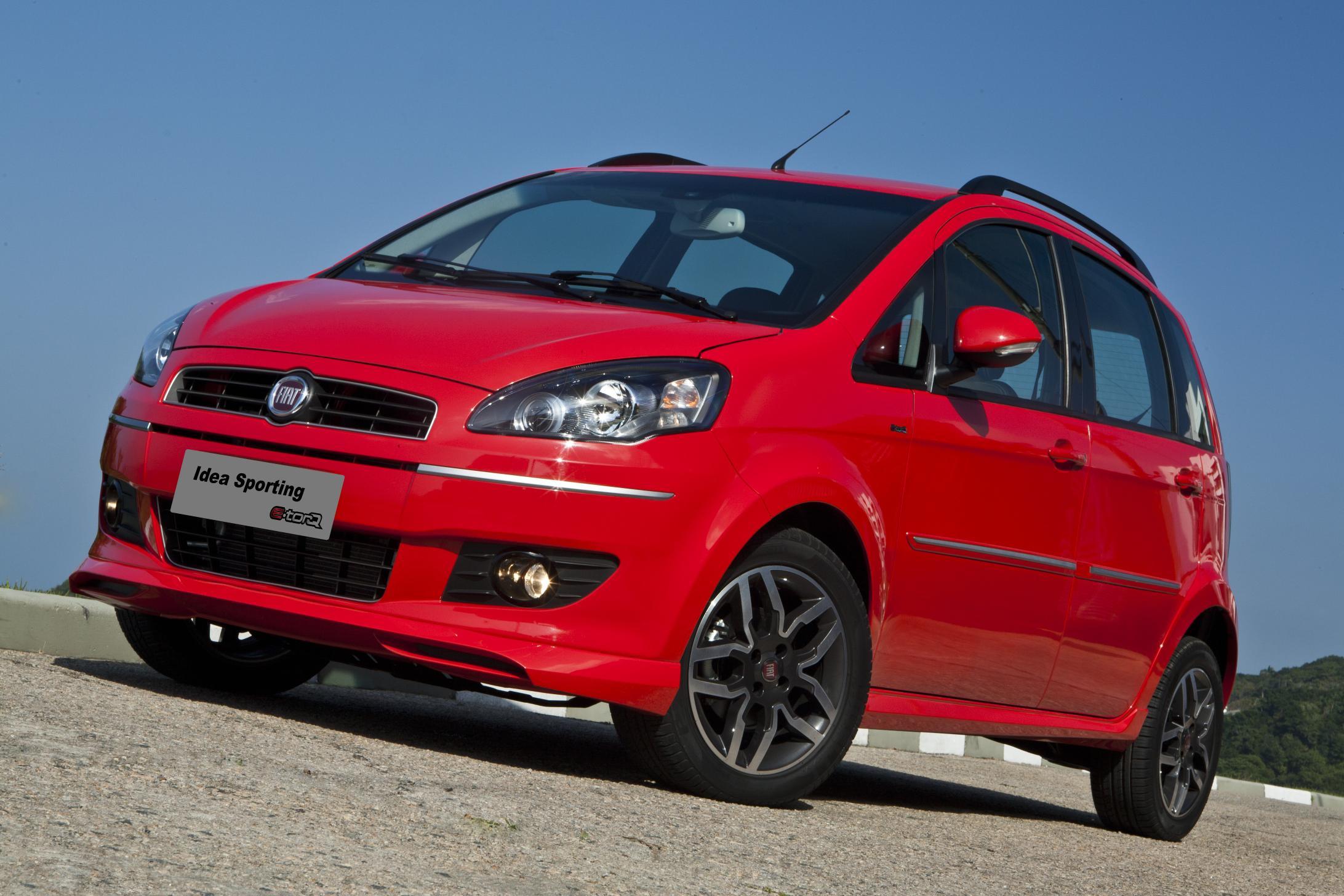 Fiat Apresenta Idea 2011 Com Visual Repaginado Novos